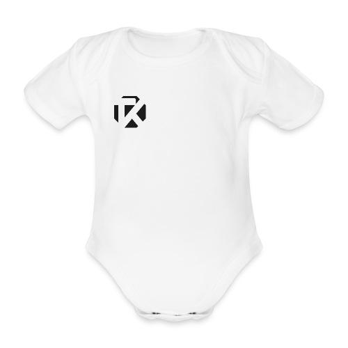 Logo TK Noir - Body Bébé bio manches courtes