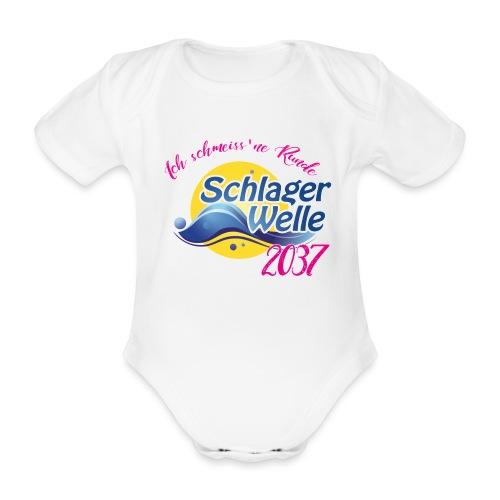 Schlager Baby Motiv - Baby Bio-Kurzarm-Body