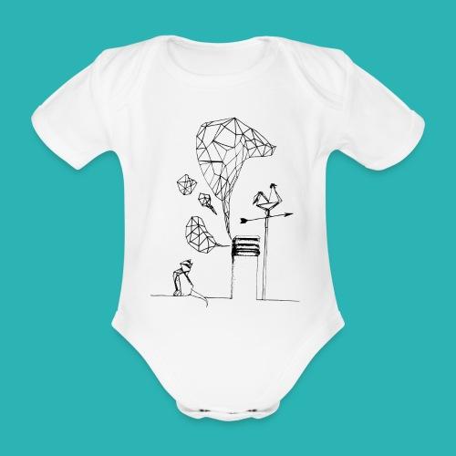 Carta_gatta-png - Body ecologico per neonato a manica corta