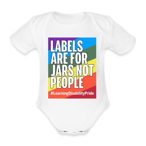 Labels are for Jars, Not People - Organic Short-sleeved Baby Bodysuit