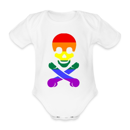 pimmelpirat - Baby Bio-Kurzarm-Body