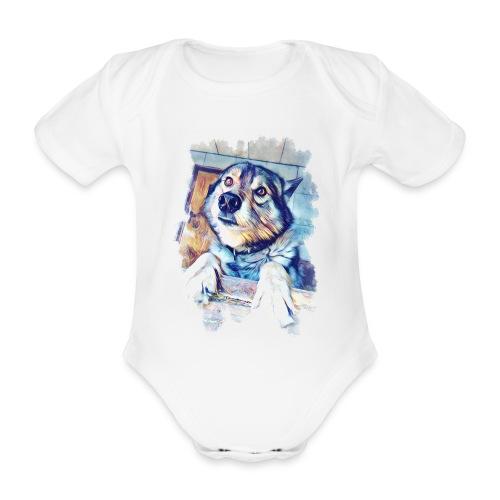 Rocky - Baby Bio-Kurzarm-Body
