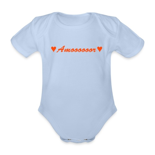 Amor - Baby Bio-Kurzarm-Body