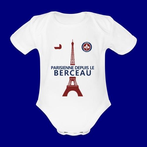 Parisienne - Body Bébé bio manches courtes