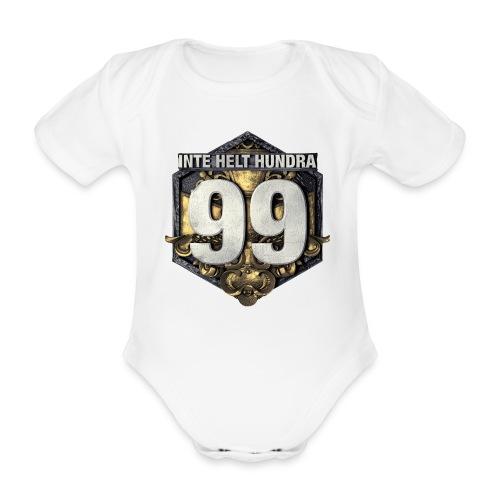 99 logo t shirt png - Ekologisk kortärmad babybody