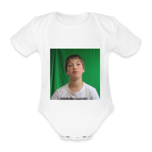 Game4you - Baby bio-rompertje met korte mouwen