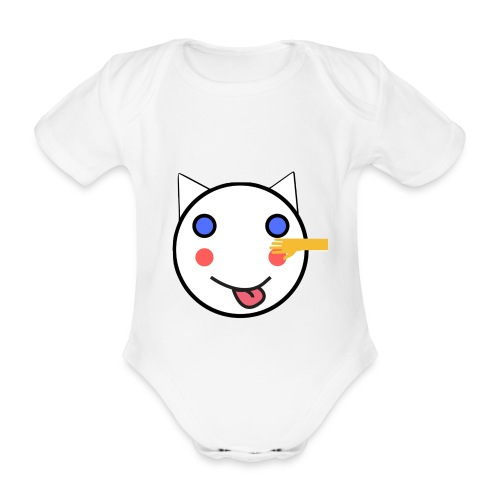 Alf Da Cat - Friend - Organic Short-sleeved Baby Bodysuit