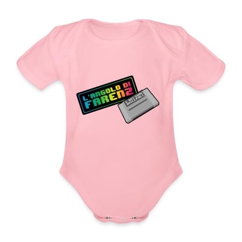 Angolo Di Farenz - Body ecologico per neonato a manica corta