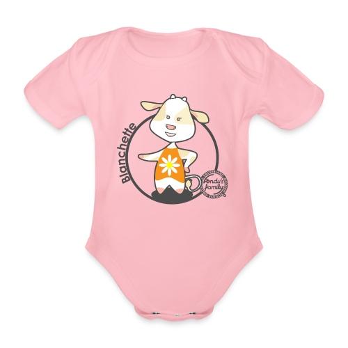 FF BLANCHETTE 01 - Baby Bio-Kurzarm-Body