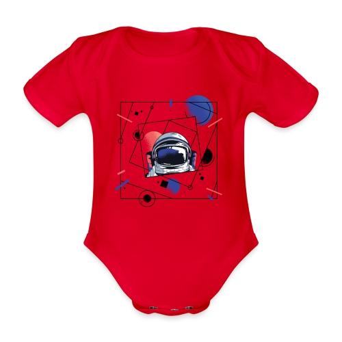 Beste Astronaut Weltraum Designs - Baby Bio-Kurzarm-Body