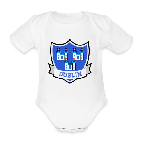 Dublin - Eire Apparel - Organic Short-sleeved Baby Bodysuit