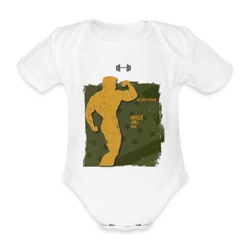 big guns inside shirt - Baby Bio-Kurzarm-Body