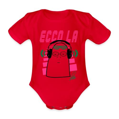 Lenzuolo Tekno - Body ecologico per neonato a manica corta