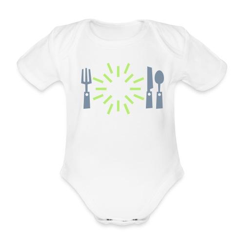 Dieet - Baby bio-rompertje met korte mouwen