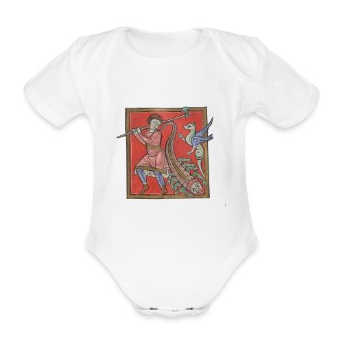 De medicina ex animalibus - Body orgánico de maga corta para bebé