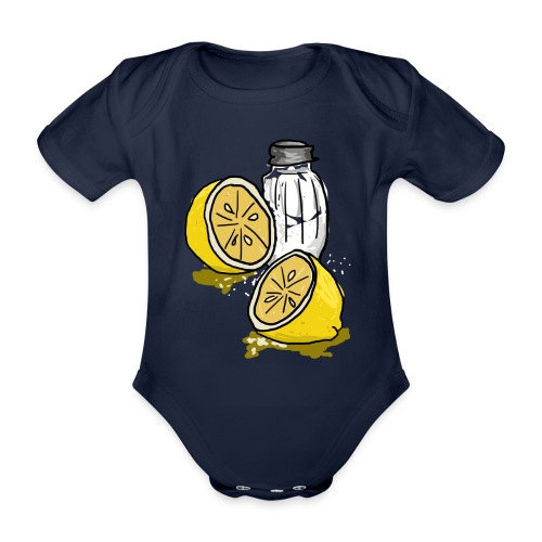Tequila - Baby bio-rompertje met korte mouwen