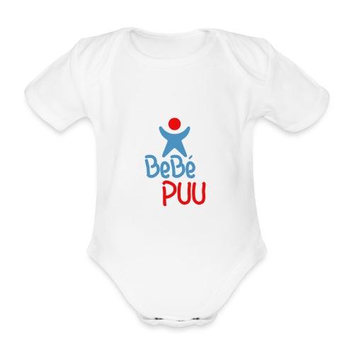 BeBé puu - Body orgánico de maga corta para bebé