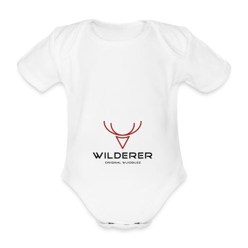 WUIDBUZZ | Wilderer | Männersache - Baby Bio-Kurzarm-Body