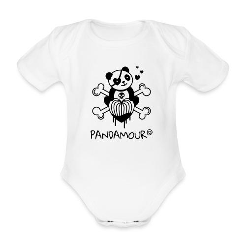 PANDAMOUR - Body Bébé bio manches courtes