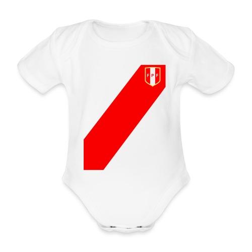 Seleccion peruana de futbol - Body orgánico de manga corta para bebé