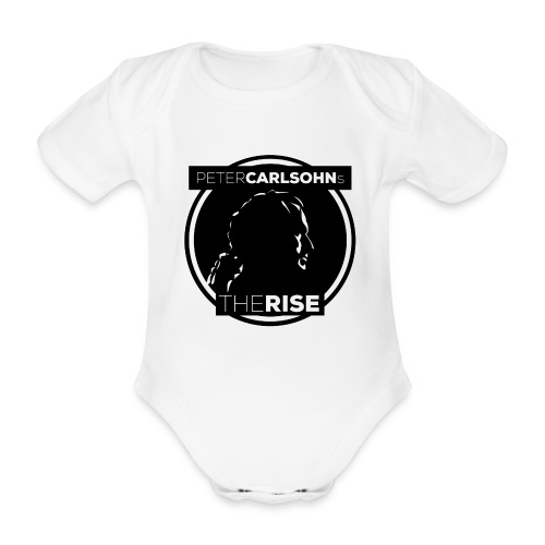 Peter Carlsohn's The Rise - Ekologisk kortärmad babybody