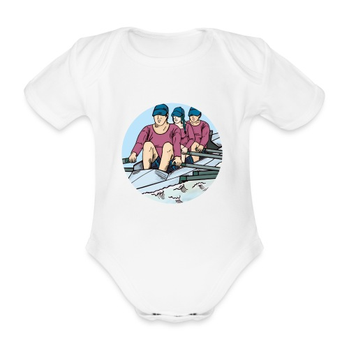 Sport Rudermannschaft - Baby Bio-Kurzarm-Body