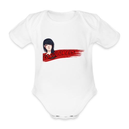 Cocolores Banner - Baby Bio-Kurzarm-Body