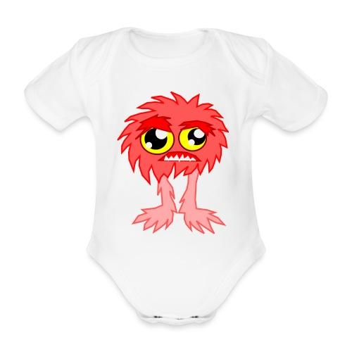 alien monstruo - Body orgánico de maga corta para bebé
