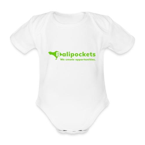Balipockets Logo - Baby Bio-Kurzarm-Body