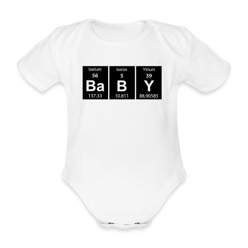 babyklein - Baby bio-rompertje met korte mouwen