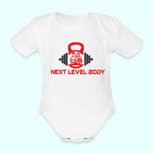 NEXT LEVEL BODY - Vauvan lyhythihainen luomu-body