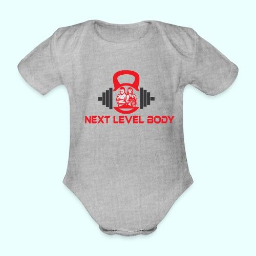 NEXT LEVEL BODY - Vauvan lyhythihainen luomu-body