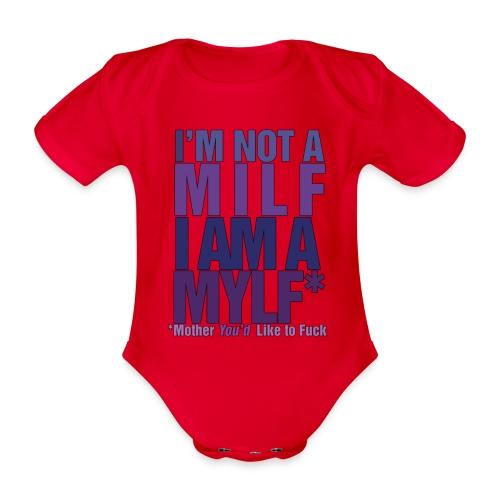 MYLF - Økologisk kortermet baby-body