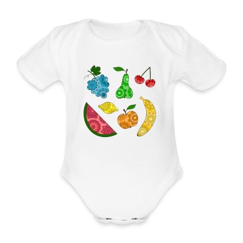 Obstsalat - Baby Bio-Kurzarm-Body