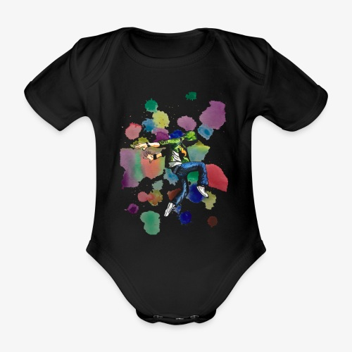 Dancer - Organic Short-sleeved Baby Bodysuit