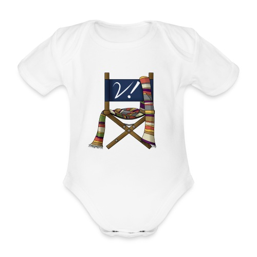 verity logo spreadshirt copy 2 - Organic Short-sleeved Baby Bodysuit