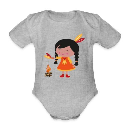 Happy Meitlis - Amerika - Baby Bio-Kurzarm-Body