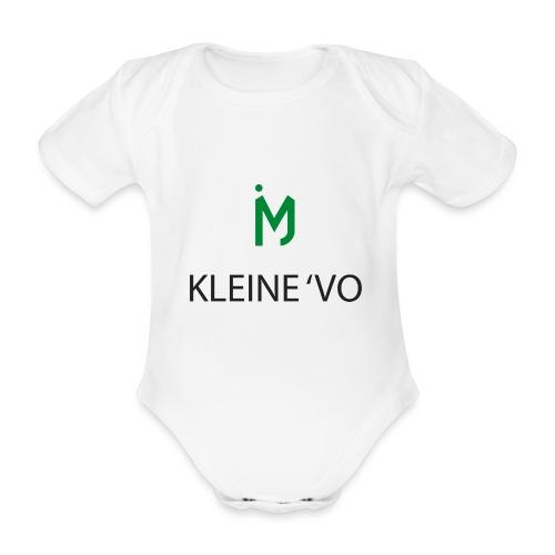 kleine vo - Baby bio-rompertje met korte mouwen