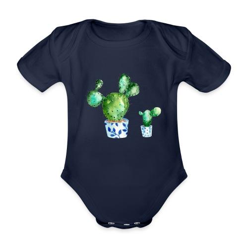 Kaktus - Organic Short-sleeved Baby Bodysuit