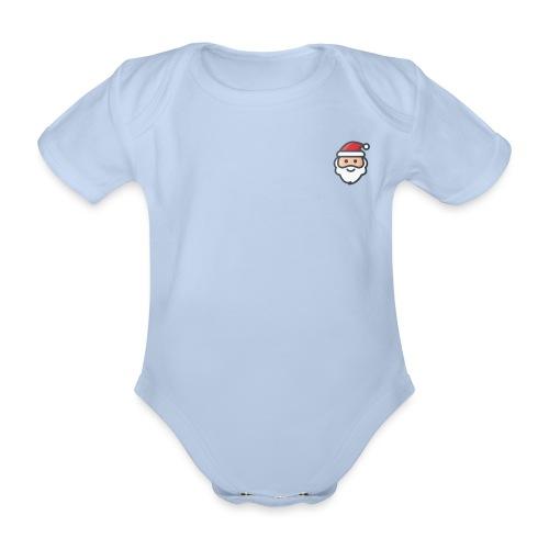 santa - Organic Short-sleeved Baby Bodysuit