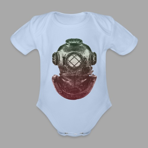 Diver - Vauvan lyhythihainen luomu-body