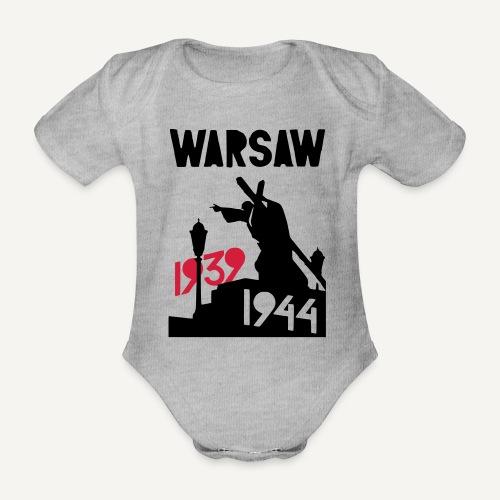Warsaw 1939-1944 - Ekologiczne body niemowlęce z krótkim rękawem