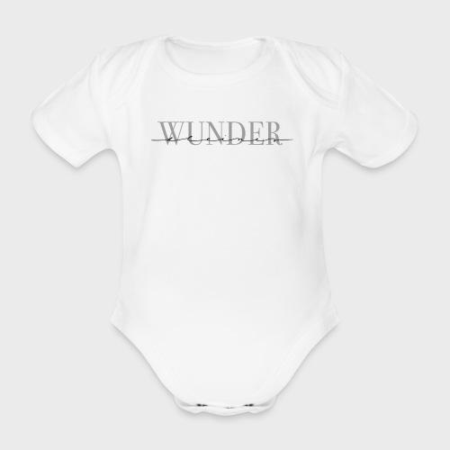 Kleines Wunder – Baby Kollektion - Baby Bio-Kurzarm-Body