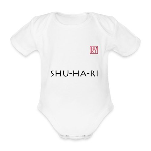 Shu-ha-ri HDKI - Organic Short-sleeved Baby Bodysuit