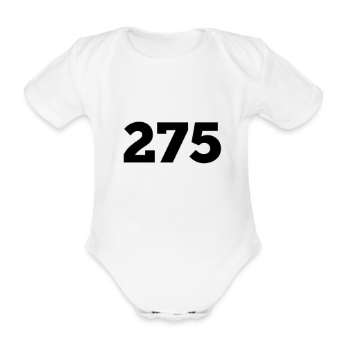 275 - Organic Short-sleeved Baby Bodysuit