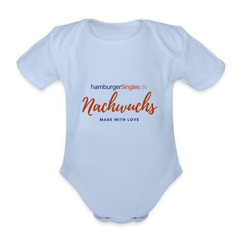 HaSi Nachwuchs Made with love - Baby Bio-Kurzarm-Body