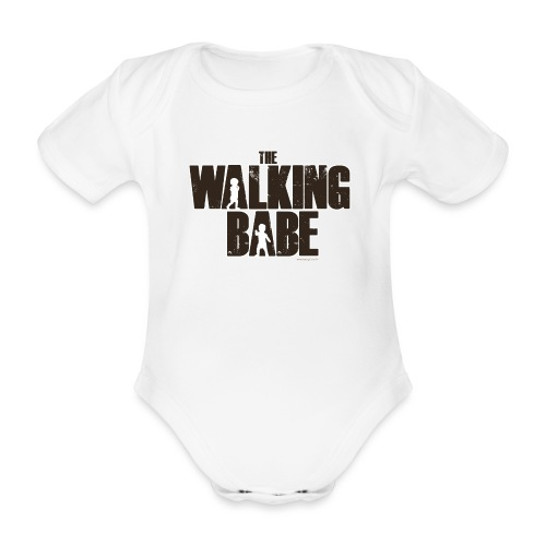 The Walking Babe - Body Bébé bio manches courtes