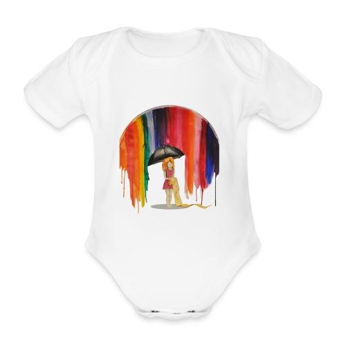 Rainbow - Body Bébé bio manches courtes