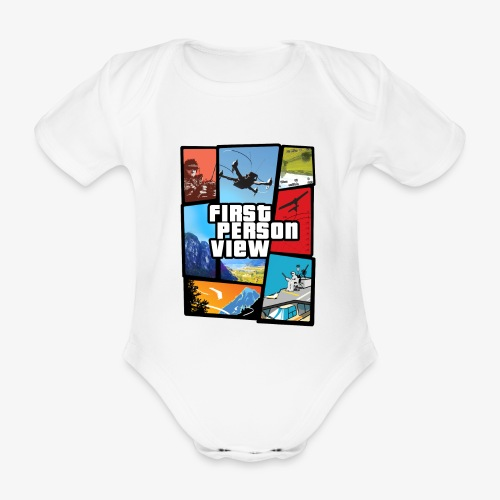 Ultimate Video Game - Organic Short-sleeved Baby Bodysuit