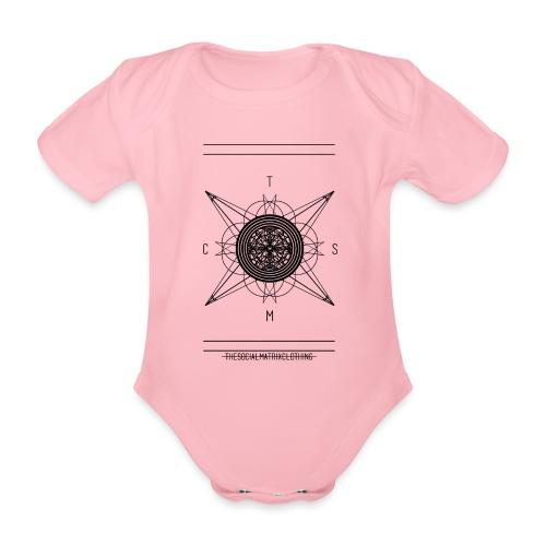 DE PIONEER - Baby bio-rompertje met korte mouwen